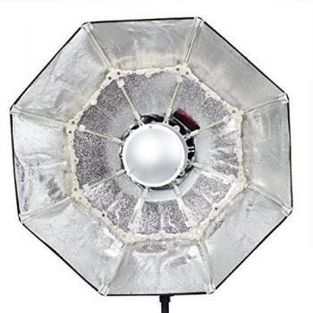 Beauty Dish 65cm plateado