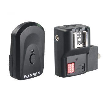 Disparador de flash por radio + 2 receptores