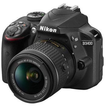 Cámara Nikon D3400 C/ Lente 18 55mm