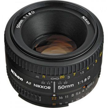 Lente AF Nikkor 50mm f/1.8D