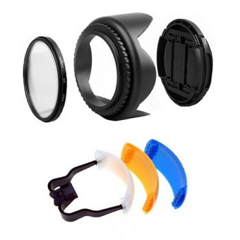 Kit de Parasol + Filtro UV + Tapa + Difusor