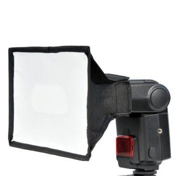 Disufor /mini softbox para flashes de zapata 15x17cm