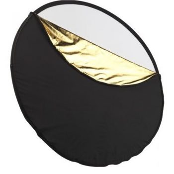 Disco reflector plegable 5 en 1  110cm