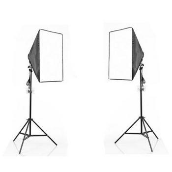 Kit de Iluminación LED para estudio de fotografía y vídeo