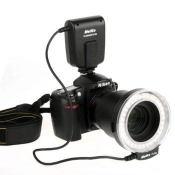 Flash de Led Para Macro Fotografia para Canon