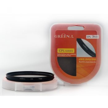 Filtro Polarizador CPL Green L 52mm