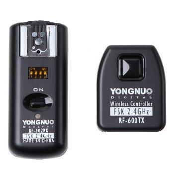 Radio Disparador de flash Yongnuo RF602 p/ Canon