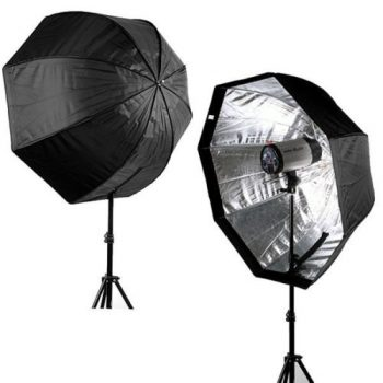 Paraguas Softbox octogonal 120cm