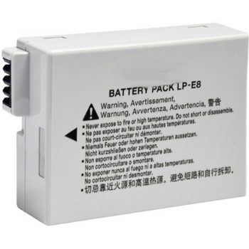 Bateria Compatible para Canon LPE8 1800 mAh