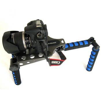 Soporte Estabilizador plegable para cámaras de Vídeo y Réflex