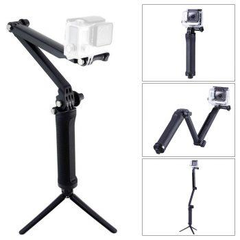 Brazo soporte 3 en 1 para cámaras GoPro