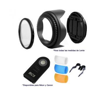 Kit De Accesorios C/ Control P/ Camaras Reflex