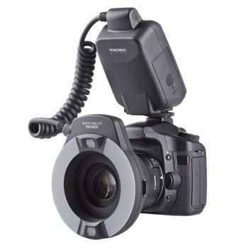 Flash Anillo Para Macro Fotografia y retratos e-TTL para Canon
