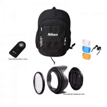 Mochila Nikon con Accesorios P/ Camaras Reflex