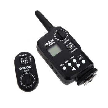 Disparador de flash de estudio Godox FT16 Emisor y Receptor
