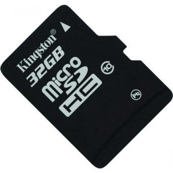 Memoria Kingston Micro SDHC clase 10 32GB c/ adaptador