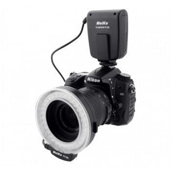 Flash de Led Para Macro Fotografia para Nikon
