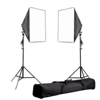Kit de Iluminación portatil para vídeo con bolso