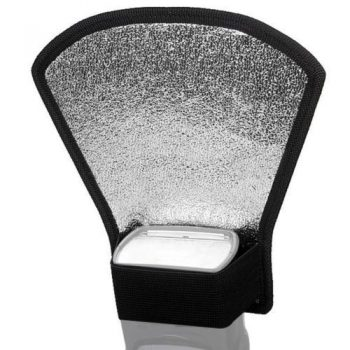 Difusor-Reflector Softbox plata / blanco