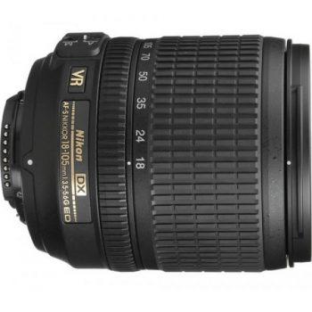 Lente AF-S DX Nikkor 18-105 AFS DX VR f/3.5-5.6