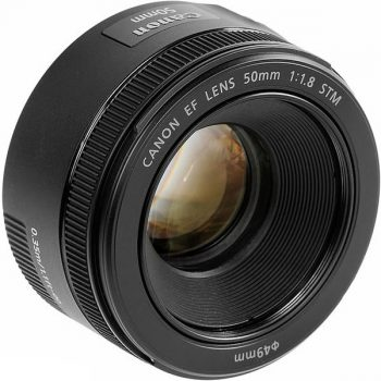 Lente Canon 50 F/1.8