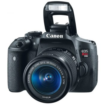 Cámara Canon T6i C/ Lente 18 55mm