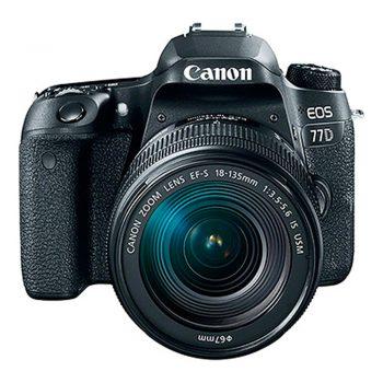 Cámara Canon Rebel 77d Con Lente 18-135mm