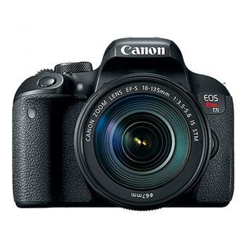 Cámara Canon Rebel T7i Con Lente 18-135mm