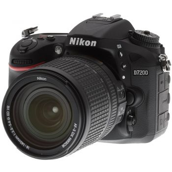 Cámara Nikon D7200 C/ Lente 18 140mm