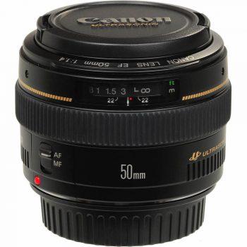 Lente Canon 50 1.4 USM
