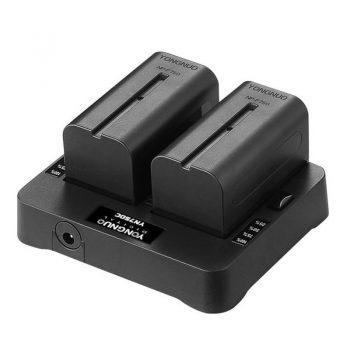 Cargador doble para Baterias Sony Serie NP-F